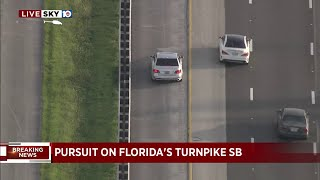 High-speed chase begins in Broward, ends in Miami-Dade