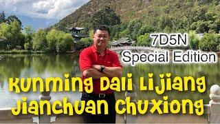 Special Edition 7D5N Kunming Dali Lijiang Jianchuan Chuxiong Trip 🇨🇳