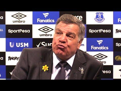 Everton 1-3 Manchester City - Sam Allardyce Full Post Match Press Conference - Premier League