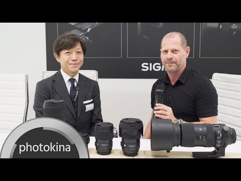 SIGMA Full Frame Camera, L-Mount Alliance and New Lenses - Video Interview