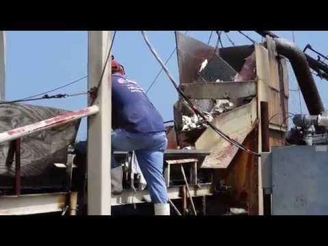 Unloading A Commercial Fishing Boat