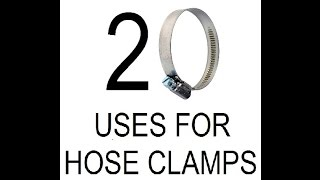 20 Uses for Hose Clamps