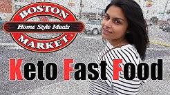 Keto Fast Food?  We Take a Trip to Boston Market to Explore Their Keto Options!