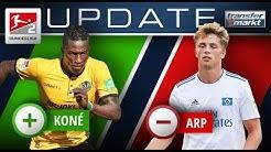 Neue Marktwerte 2.Bundesliga: Koné auf einem Level mit Arp | TRANSFERMARKT