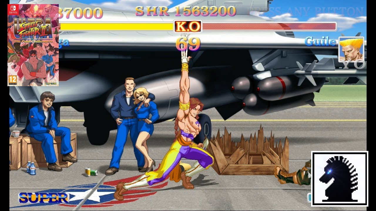 Ns Ultra Street Fighter Ii The Final Challengers Vega