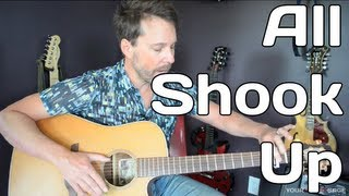 How To Play All Shook Up By Elvis Presley - Guitar Lesson