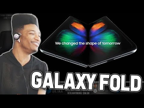 "ETIKA REACTS TO ""SAMSUNG GALAXY FOLD"" ( 2000$ FOLDABLE PHONE )"