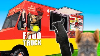 We Built a Miniature Food Truck For Our Dog in our Backyard! PawZam Dogs