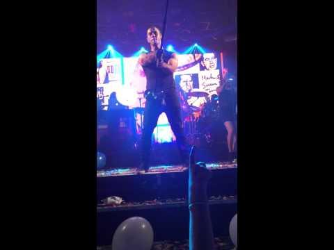 Nick Jonas singing Jealous at G-A-Y Heaven Nightclub London 18 July 2015