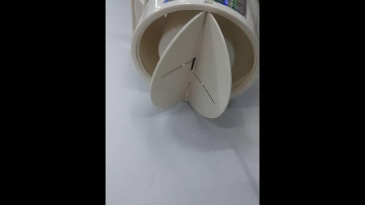Ispiratore aria da muro estrattore ventola elimina odori - Estrattore bagno ...
