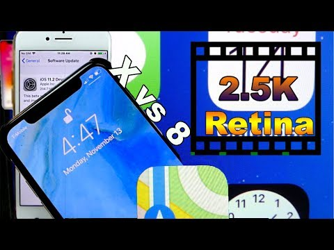 Download Youtube: iPhone X vs iPhone 8 ULTIMATE Retina Display Test! 326 ppi/458 ppi