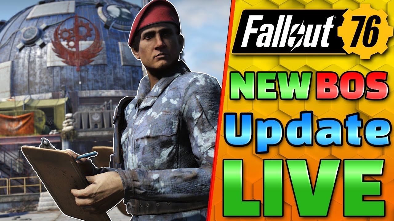NEW Brotherhood Return UPDATE + NEW Weekly's ! - Fortifying Atlas - FALLOUT 76 1440P 60FPS Live