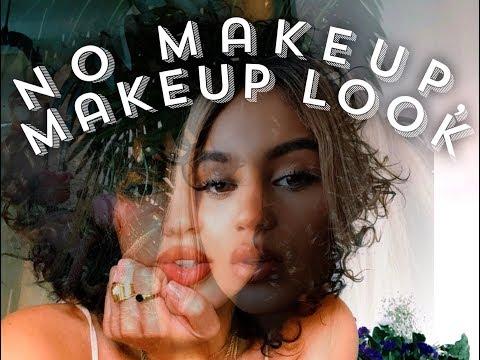 NO Makeup, Makeup Look Ft. Faux Freckles + Clinique Almost Lipstick