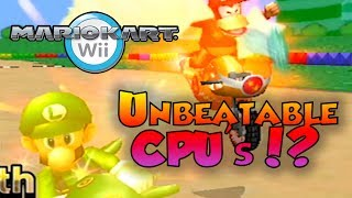 Mario Kart Wii Custom Tracks - UNBEATABLE CPU