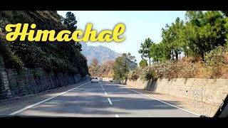 Most Beautiful Highway in Himachal I Shimla Highway I Himachal Drive with VisH