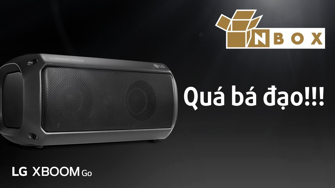Mở hộp, đánh giá nhanh Loa Bluetooth LG XBOOM Go PK3: Quá rẻ so với tầm giá!