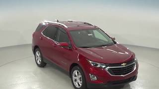 182226 - New, 2018, Chevrolet Equinox, LT, Red, SUV, AWD, Test Drive, Review, For Sale -