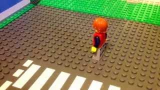 Урок Лего анимации #1 'ходьба'