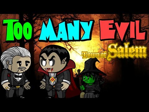 TOO MANY EVIL | Town of Salem Custom Coven Game