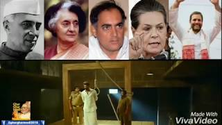 Congress Gandhi family dynasty politics explained in 1 minute | Rahul gandhi Indira Sonia
