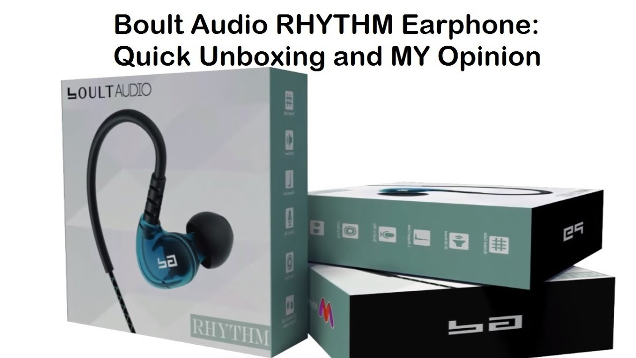 c648857a969 Boult Audio RHYTHM Earphone.. Quick Unboxing and Review(HINDI ...