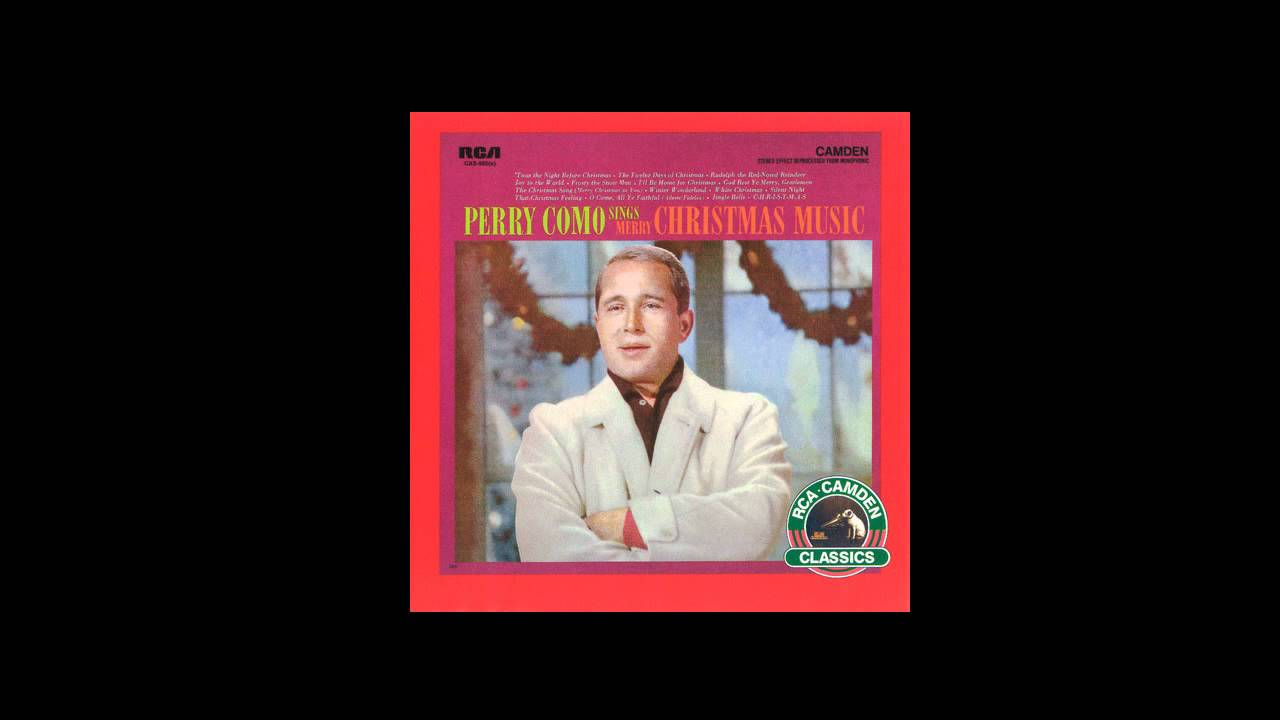 Perry Como - I'll Be Home For Christmas - YouTube