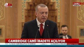 """Başkan Erdoğan: """"Irkçılık Ve İslam Düşmanlığı Zehirli Sarmaşık Gibi Yayılıyor"""""""