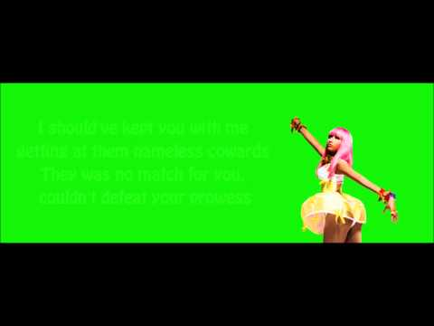 Nicki Minaj - Dear Old Nicki Lyrics Video
