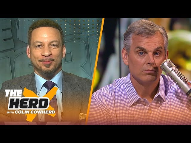 Knicks have a great chance at AD over Lakers, compares Steph to Duncan — Broussard   NBA   THE HERD