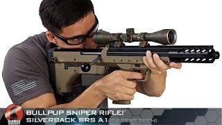 bullpup sniper rifle silverback srs a1 desert tech redwolf airsoft rwtv