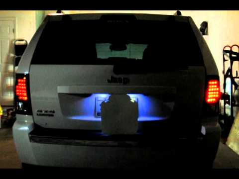 Jeep Grand Cherokee Tinted LED Tail Lights YouTube