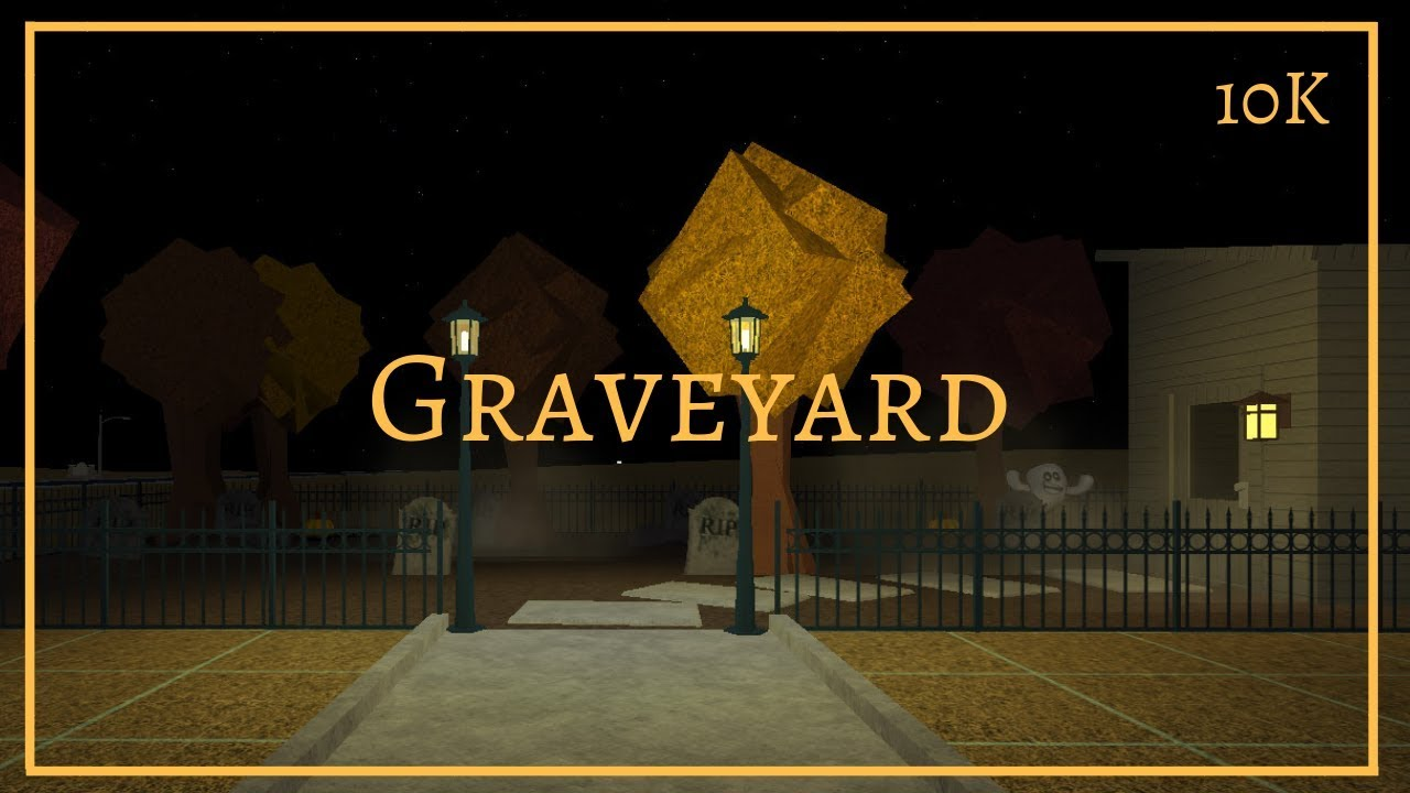 Bloxburg Halloween Cemetery 2020 10k Bloxburg: Graveyard | 10K   YouTube