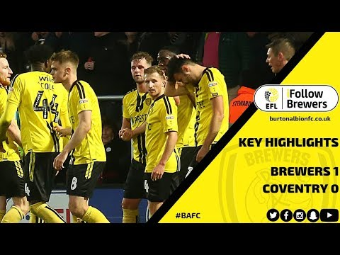 MATCH HIGHLIGHTS | Burton Albion 1-0 Coventry City