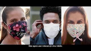 Campanha publicitária: Uso de máscaras em São Paulo