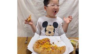 [피자먹방]#도미노피자…