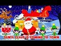Captain Ace Zoomy 🎅   SANTA CLAUSE IS COMING TO TOWN 🎅 Best Christmas Songs for Kids | Xmas Song