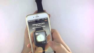 فتح علبة ساعة أبل واتش سبورت Apple Watch Unboxing Sport