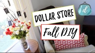 FALL DECOR | Dollar Tree DIY & Gratitude Tree