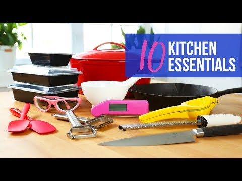 10 Kitchen Essentials | Tools I Can't Live Without!
