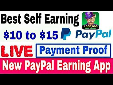 Lucky winner app live payment proof || New app PayPal earning
