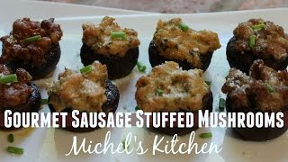 Gourmet Sausage Stuffed Mushrooms - Show 36