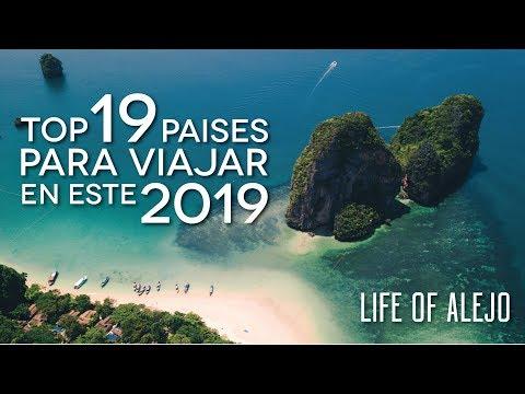 Los Mejores 19 PAISES para VIAJAR en 2019 | Life of Alejo
