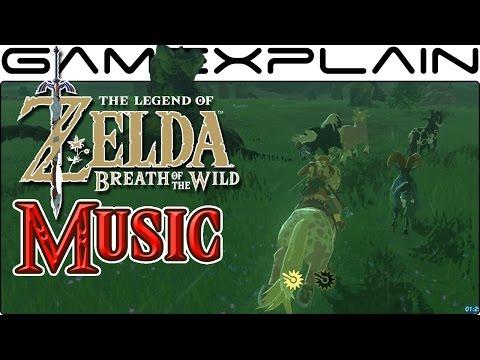 Classic Zelda Theme in Breath of the Wild (Nintendo Switch Gameplay)