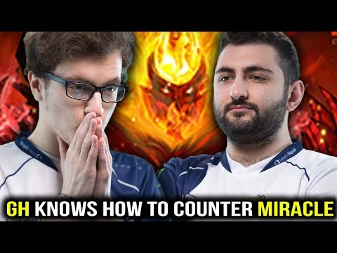 GH Knows How to Completely Counter Miracle Shadow Fiend Dota2