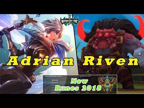 [ Adrian Riven ] Riven vs Ornn [ FS LePtitsinged ] Top -  Best Riven Plays - Adrian Riven Comback