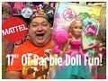 "*Brand New* Barbie Endless Hair Kingdom 17"" Tall Barbie Doll Review!✨"