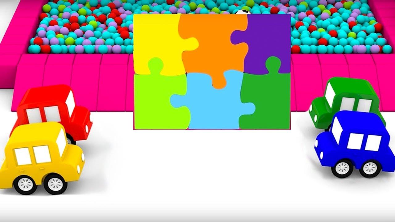 Macchinine colorate e il ponte magico cartoni animati