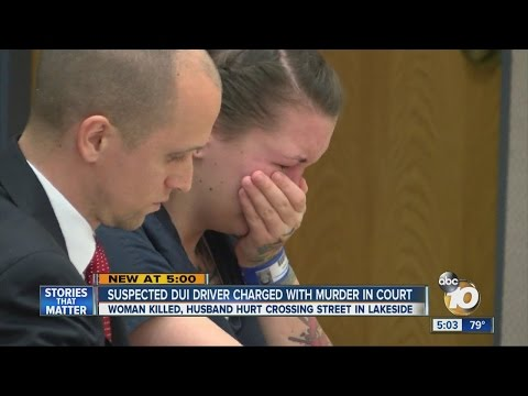 Suspected DUI driver charged with murder in court
