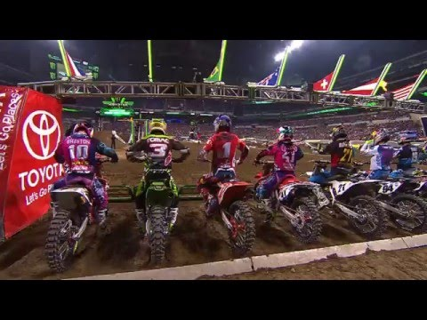2016 - Race Day LIVE! - Indianapolis - 450SX Class Highlights