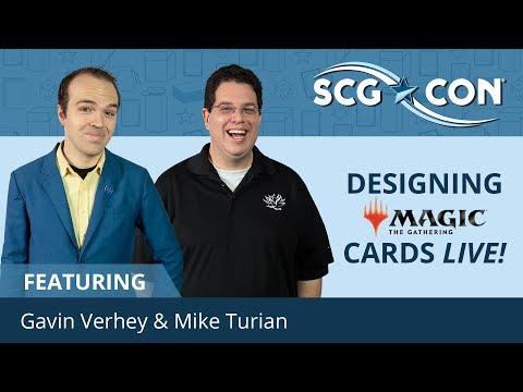 SCGCON Winter: Designing MTG Cards Live